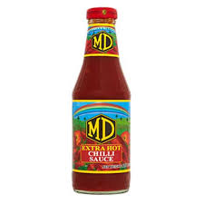 MD EXTRA HOT CHILI SAUCE 400 G [ E72 ]
